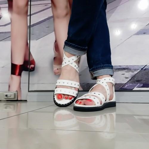 Дамски сандали V651-01 - DICIANI