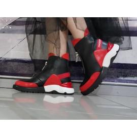 Дамски боти  P806-red