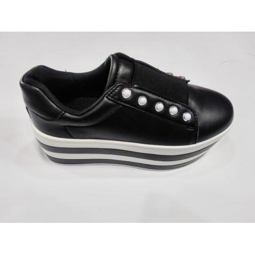 Дамски обувки висока платформа KB083 - DICIANI