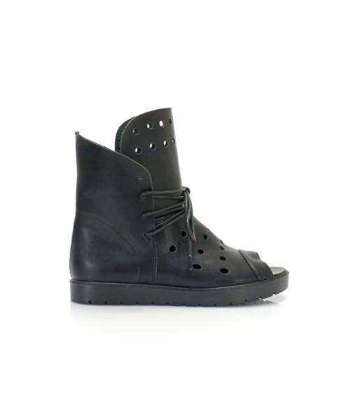 Дамски боти черни C633-H701