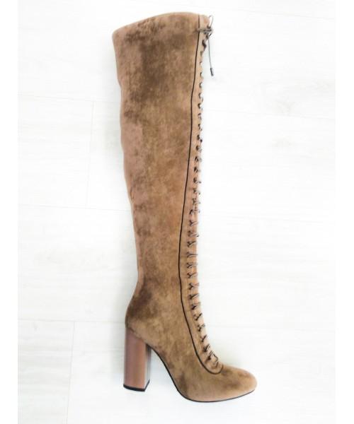Дамски ботуши-чизми M403 - DICIANI