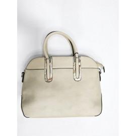 Дамска чанта шампанско цвят 6016
