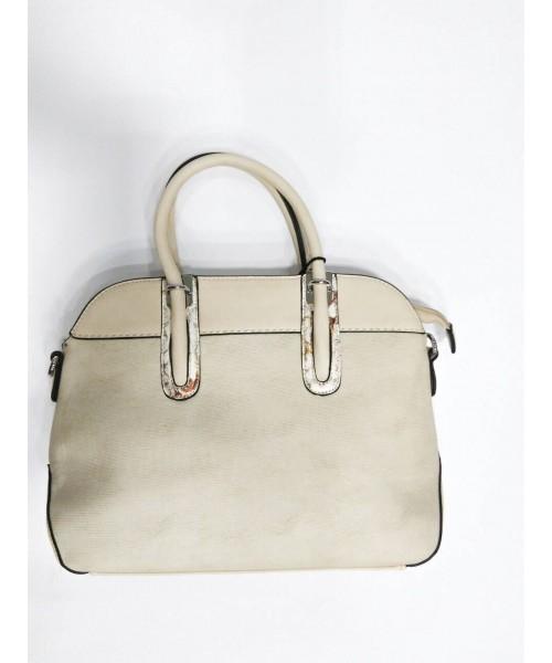 Дамска чанта шампанско цвят 6016 - DICIANI
