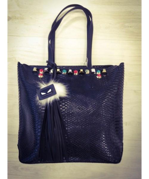 Дамска чанта 2261 т.синьо - DICIANI