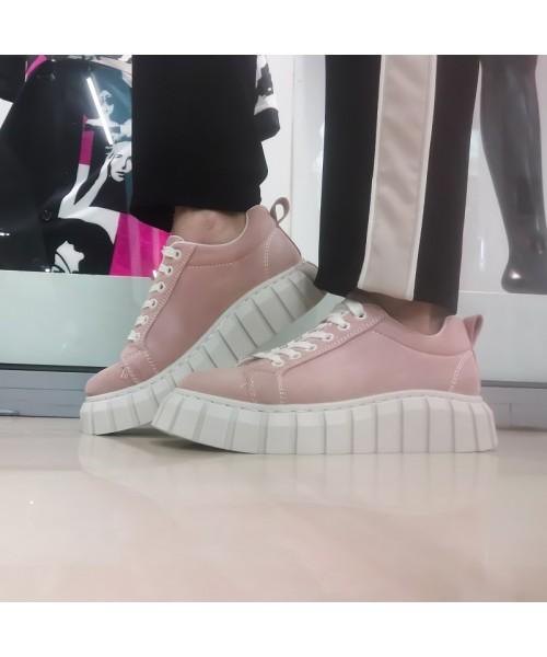 Дамски сникърси T02-pink - DICIANI