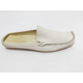 Дамски чехли естествена кожа 1955
