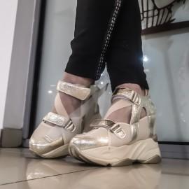 Дамски обувки  3441-gold