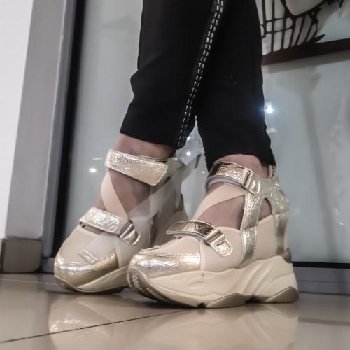 Дамски обувки 3441-gold - DICIANI