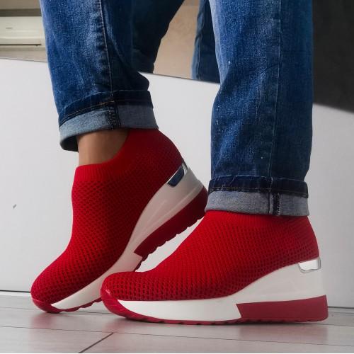 Дамски обувки Румина-red - DICIANI