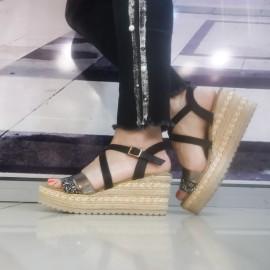 Дамски сандали  C2018-9 black