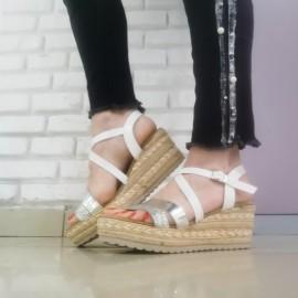 Дамски сандали C2018-9 white