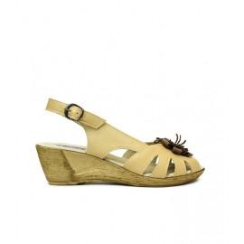 Дамски сандали естествена кожа 14311/410