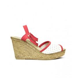Дамски сандали естествена кожа 12879