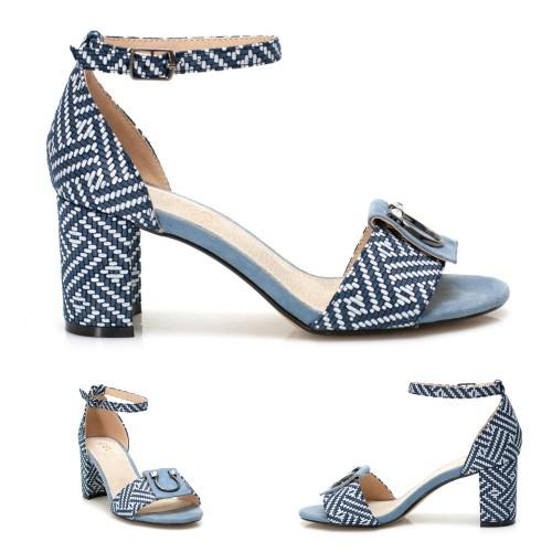 Дамски сандали EBB-371-blue - DICIANI