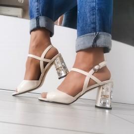Дамски сандали J2953-beige
