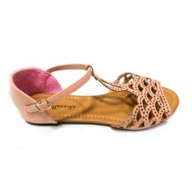 Дамски сандали беж цвят 1309