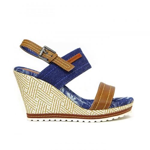 Дамски сандали F637-2 дънков - DICIANI